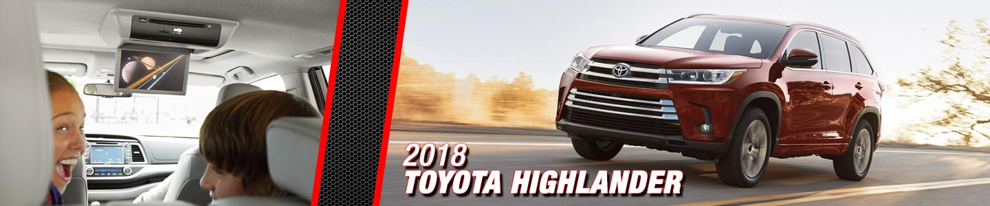 2018 Toyota Highlander at Steven Toyota