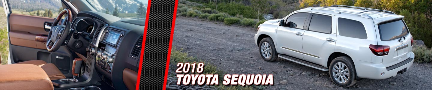 2018 Toyota sequoia at Steven Toyota