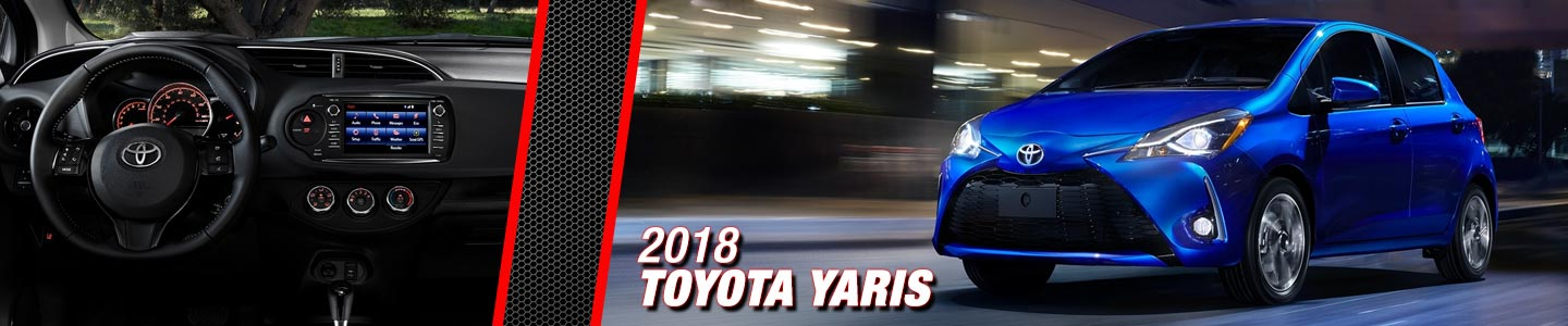 2018 Toyota Yaris at Steven