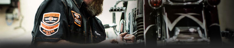 Gail's Harley Davidson, schedule service