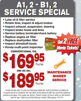 Service Specials Honda Dealership Near San Pedro Ca