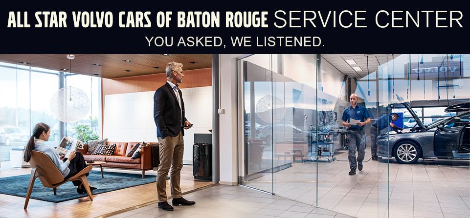 All Star Volvo Cars of Baton Rouge Service Center