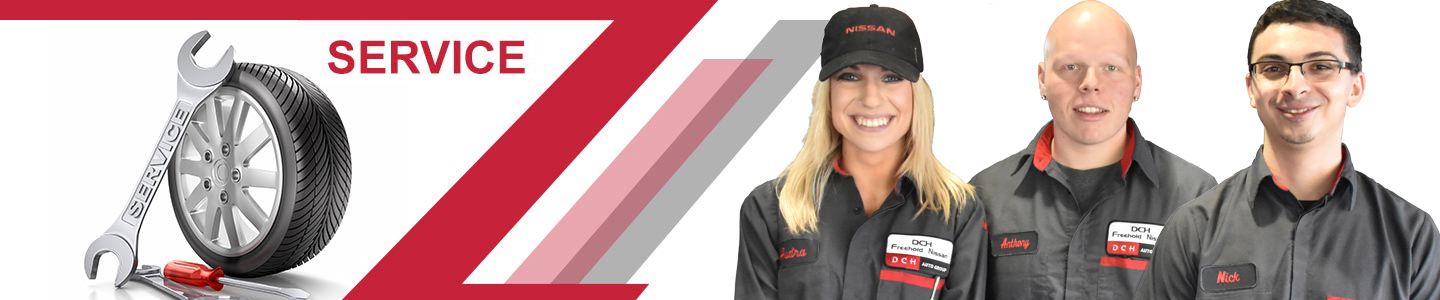 DCH Nissan Service Difference