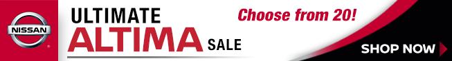 Ultimate Altima Sale