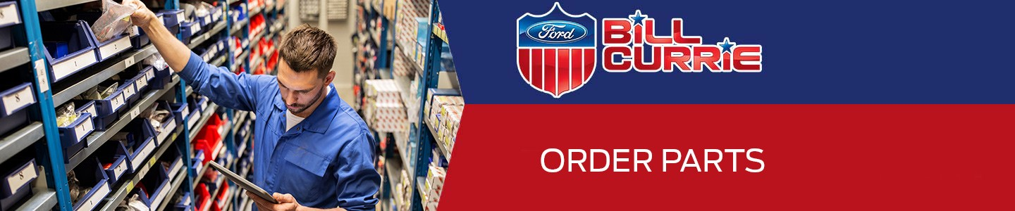 Order Auto Parts from Bill Currie Ford in Tampa, FL