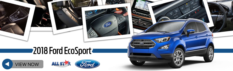 2018 Ford Ecosport Crossovers In Denham Springs La All Star Ford