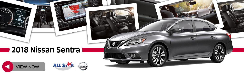 Interior. 2018 Nissan Sentra