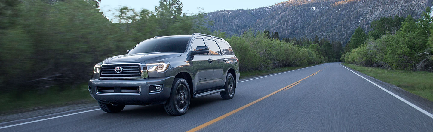 2018 Toyota sequoia at Gosch Toyota