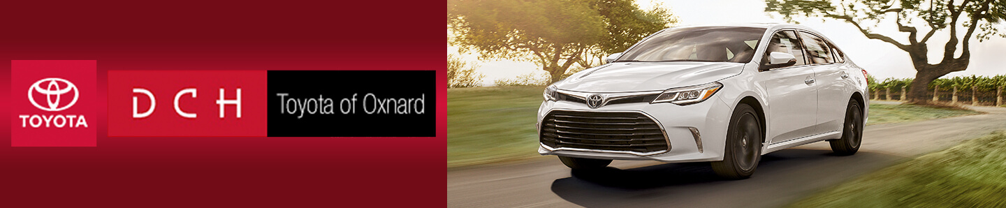 white 2018 toyota avalon at toyota of oxnard