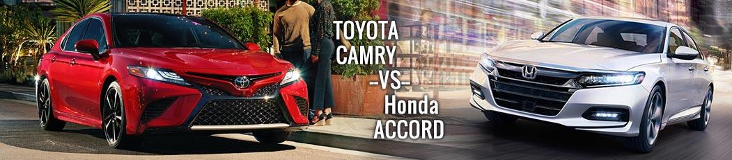Toyota Camry vs Honda Accord   Mike Johnson Hickory Toyota
