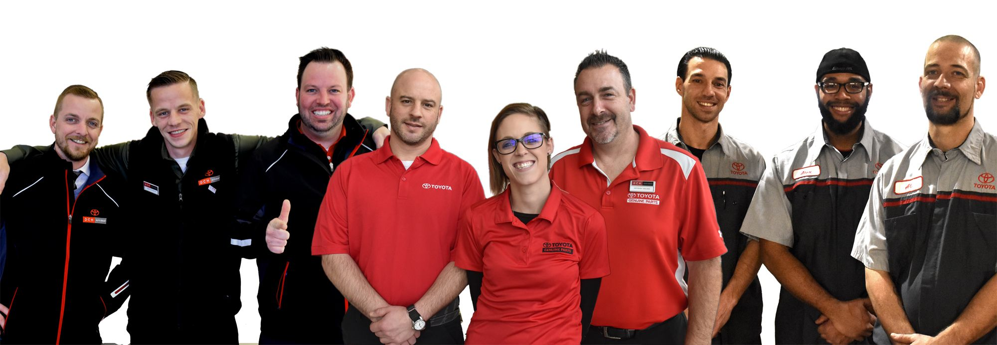 DCH Toyota of Milford, staff
