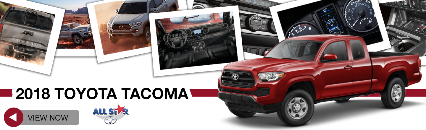 Beautiful 2018 Toyota Tacoma For Sale At All Star Toyota