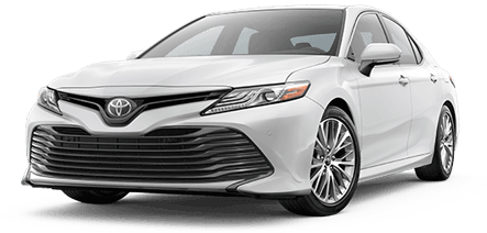 2017 Toyota Camry in White