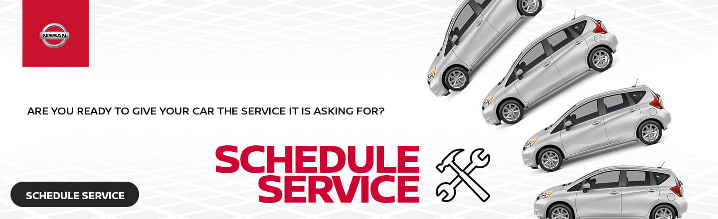 Mayfield Nissan, Schedule Service