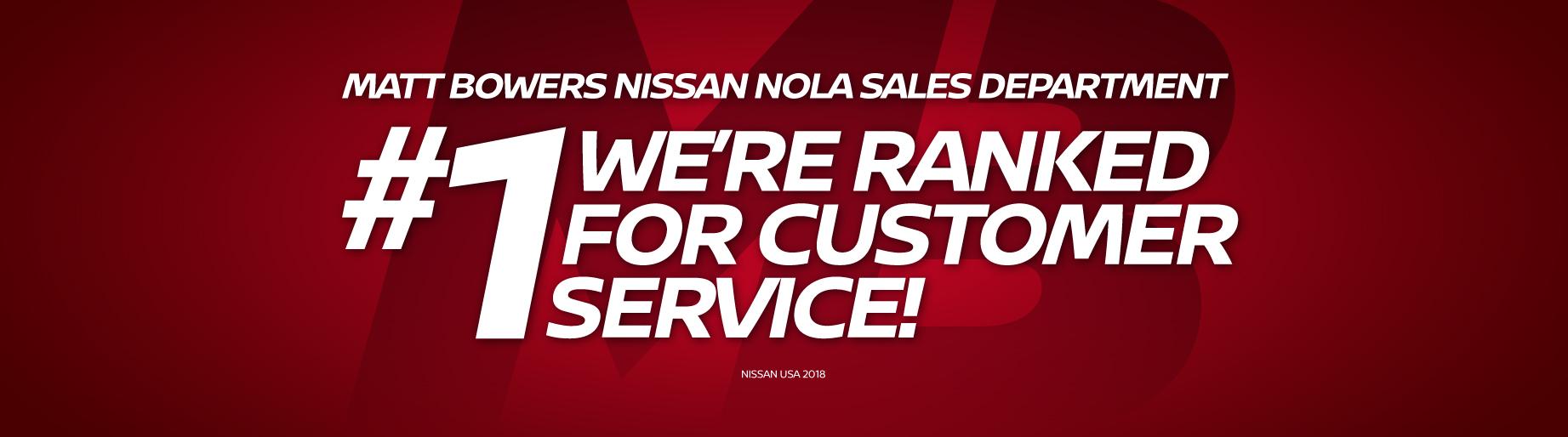 Superb #1 Sales Department For Customer Service