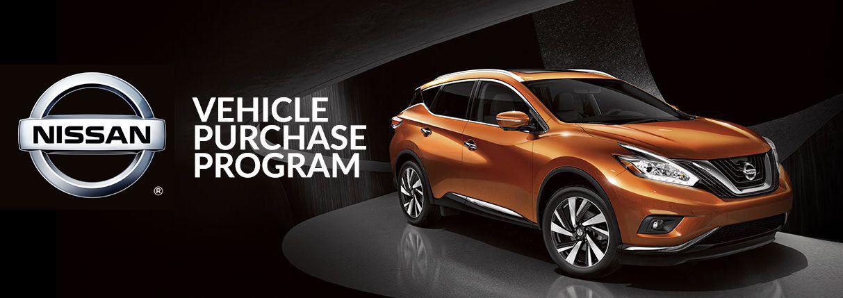 Hudson Nissan's Vehicle Purchase program