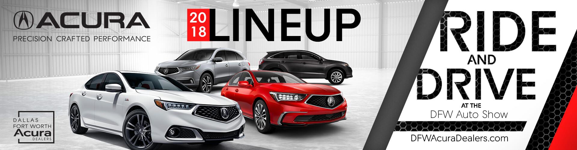 DFW Auto Show Ride And Drive Dallas Forth Worth Acura Dealers - Dallas car show 2018