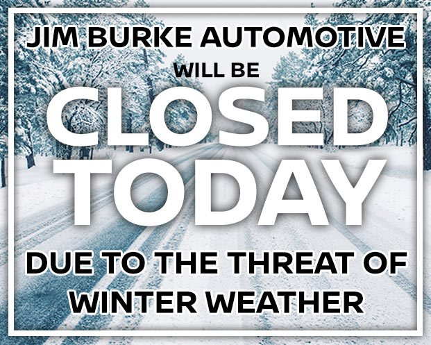 Jim Burke Will be Closed Due to Weather