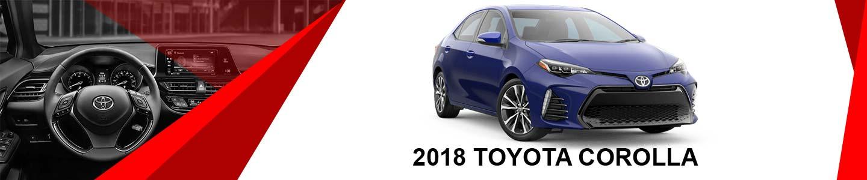 2018 toyota Corolla at Toyota of Laramie