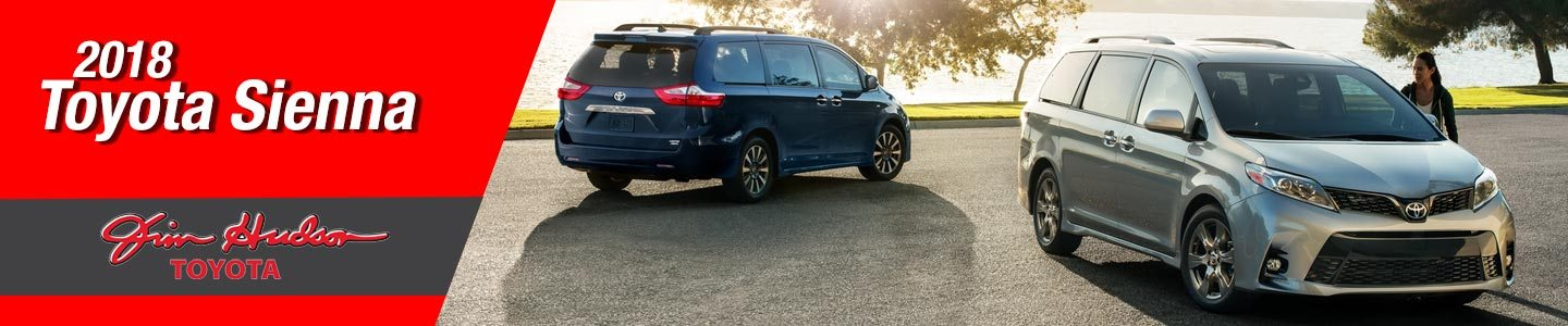 2018 Toyota Sienna Minivans Near Columbia, South Carolina