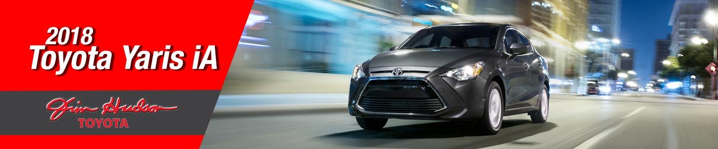 2018 Toyota Yaris IA Sedan At Jim Hudson Toyota, In Irmo, SC
