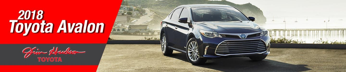 Superior ... Jim Hudson Toyota, Serving Columbia, SC. 2018 Toyota Avalon