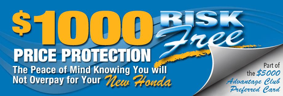 Price Protection at Brandon Honda