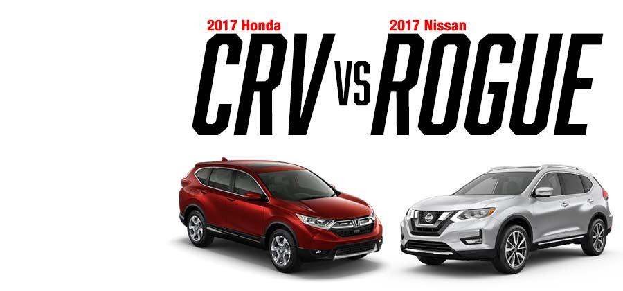 2016 Honda CR-V vs. 2016 Nissan Rogue