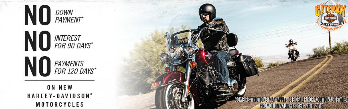 Schedule Test Drive | Gateway Harley-Davidson