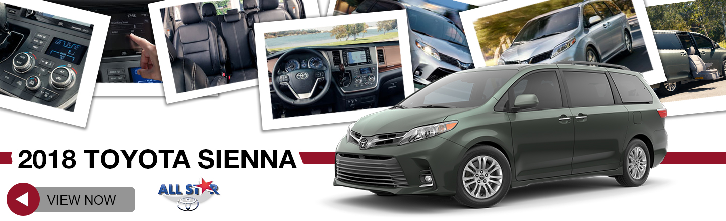 2018 Sienna For Sale At All Star Toyota
