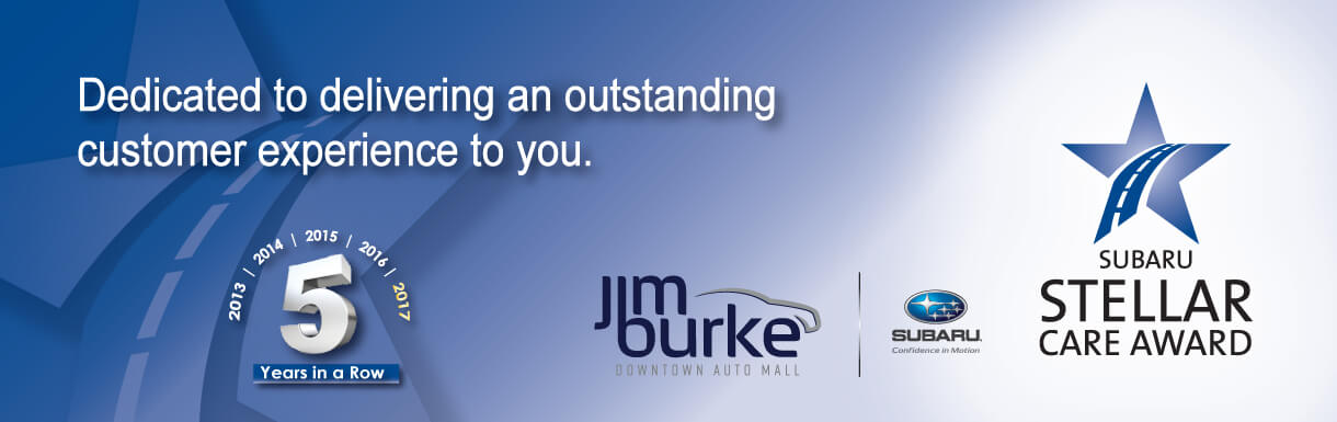 Jim Burke Subaru, Stellar Care Award