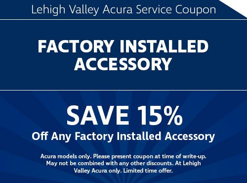 Acura Service Coupons And Specials Lehigh Valley Acura In Emmaus PA - Acura dealers in pa