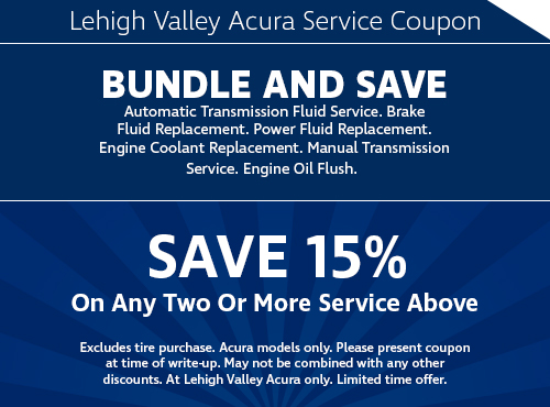 Acura Service s And Specials | Lehigh Valley Acura
