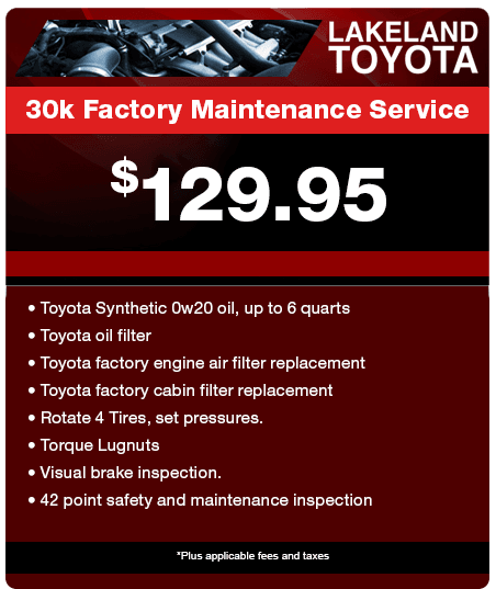 Toyota Service Specials In Lakeland, Serving Brandon, Plant City U0026 Polk  County