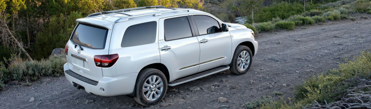 The all-new 2018 Toyota Sequoia SUV is available now at Capital Toyota in Chattanooga, Tennessee