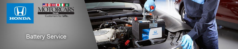 Motorcars Honda Battery Service