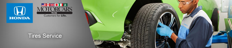 Motorcars Honda Tires Service