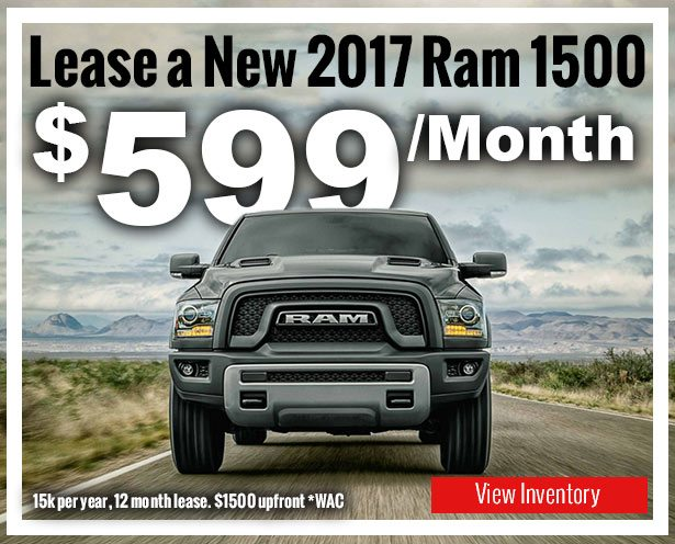 Lease a New Ram 1500