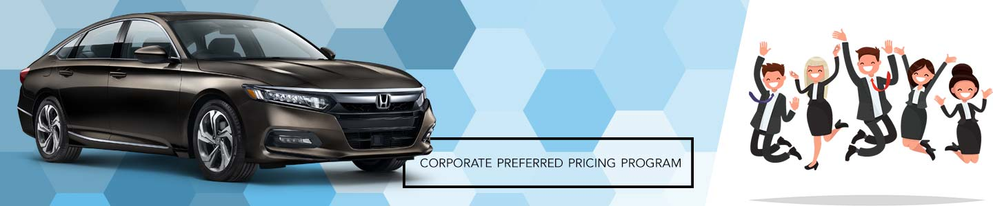 Community Honda Of Orland Park Is Pleased To Announce Its Corporate Preferred Pricing Program Local Businesses Within Our