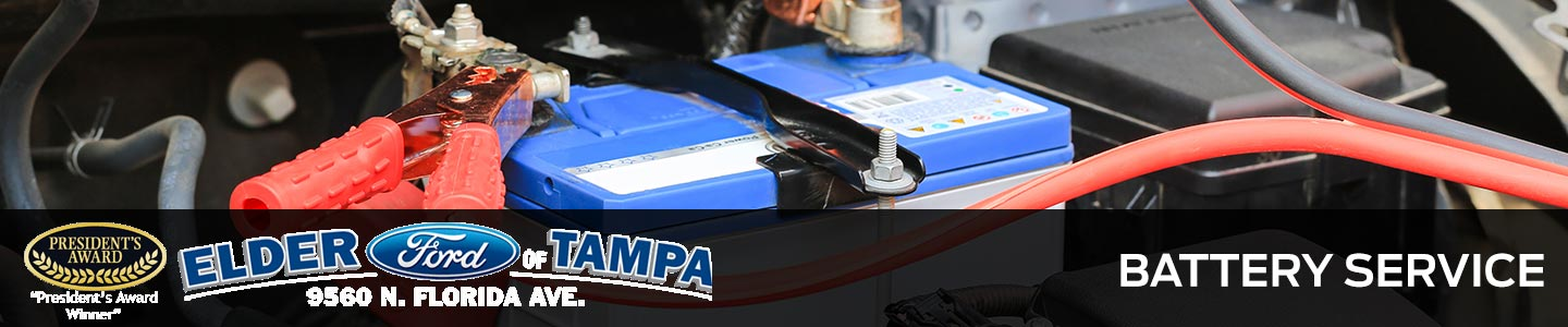 car battery service in Tampa, FL