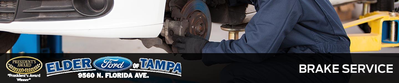 car brake service in Tampa, FL