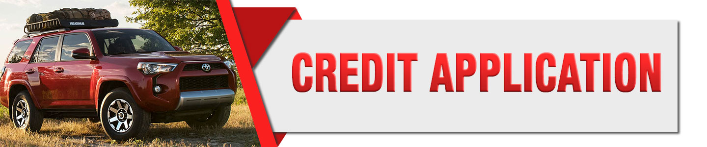 Toyota Of Southern Maryland >> Credit Application In Lexington Park Md Toyota Of