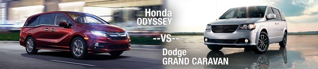 2018 Honda Odyssey Vs. 2018 Dodge Grand Caravan