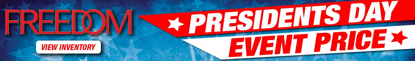 President's Day Sale at Freedom Auto Group