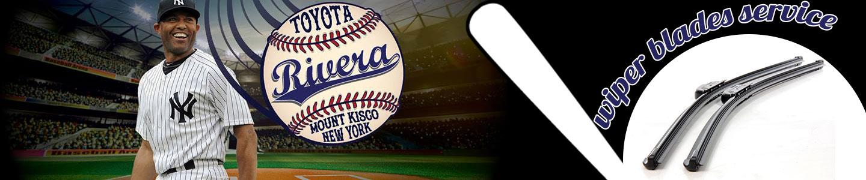 Rivera Toyota Wiper Blades Service