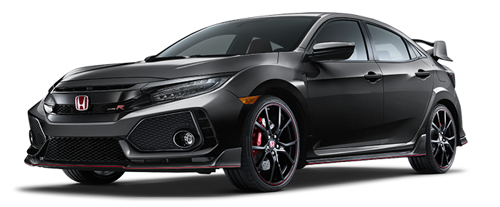 The All New Black Civic Type R available at DCH Honda of Nanuet