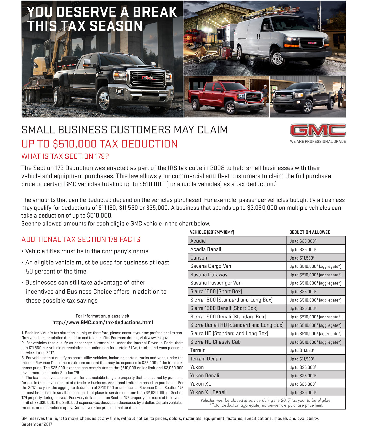 Purchase Of New Car Tax Deductible