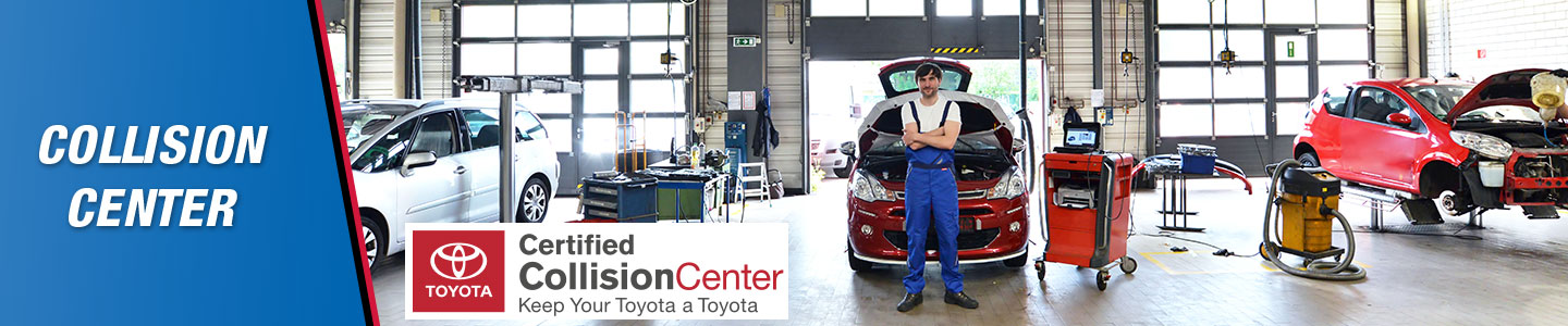 Awesome Here At Jim Norton Toyota Of OKC, We Offer All Of The Auto Collision Repair  Services You Could Ever Need To Get Back On The Road, And Looking Like New!