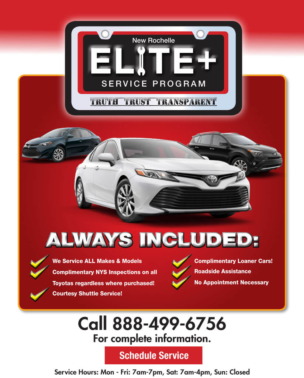 Elite Service Program, New Rochelle Toyota