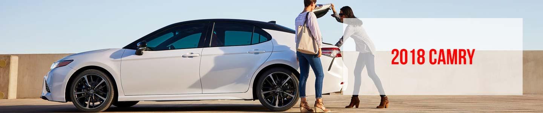 Alan Jay Toyota 2018 Toyota Camry Sedan White Exterior